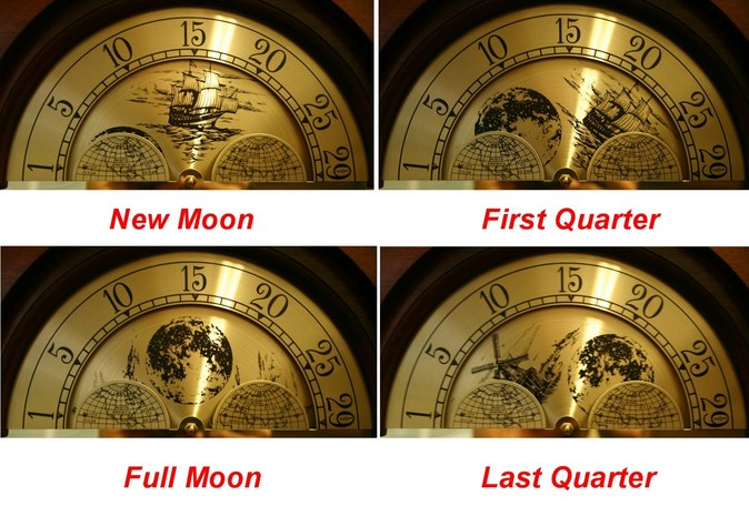 clock repair Master Clock Repair Columbus OH How to Set a Moon Dial